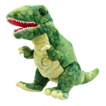 The Puppet Company Baby Dinos Triceratops Brown