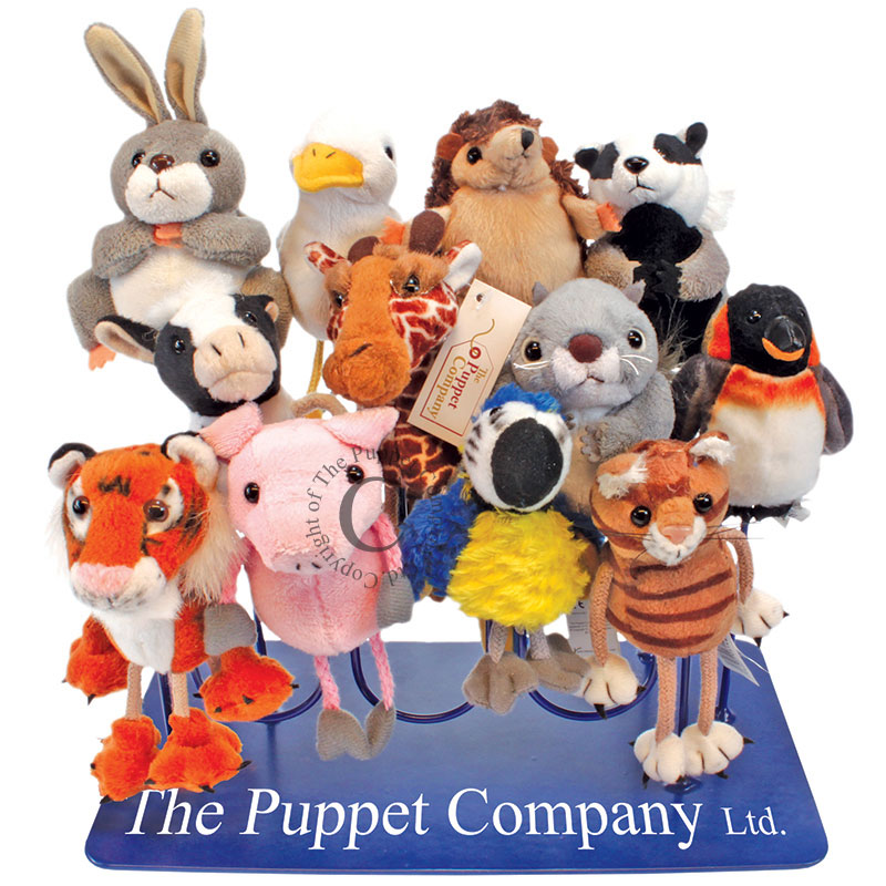 12-Arm Finger Puppet Stand