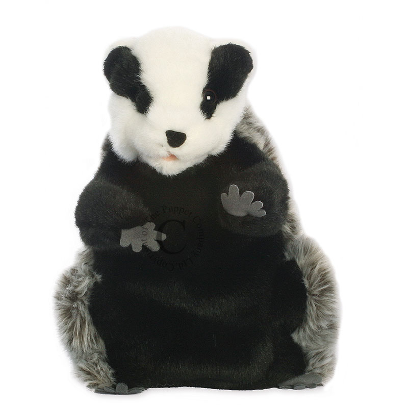 The Puppet Company Dressed Animals Badger Hand Puppet