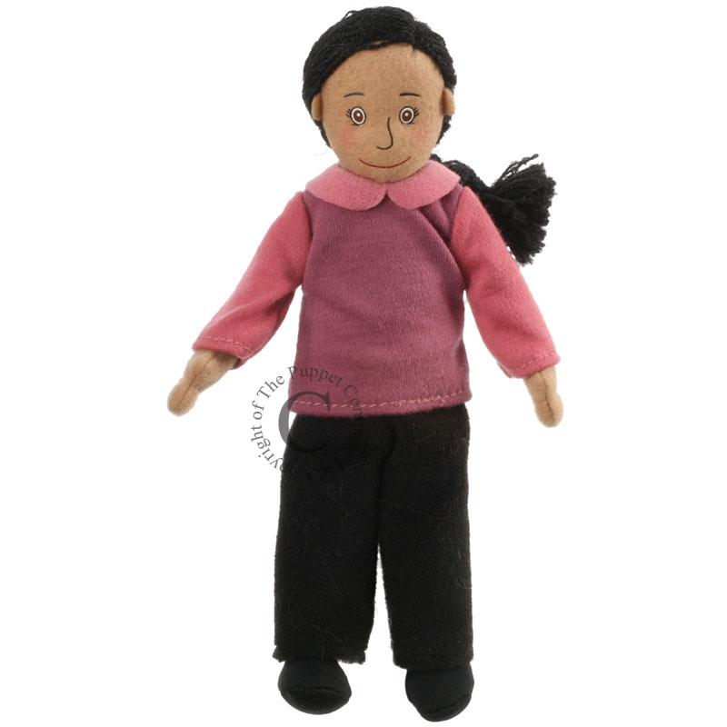 Mum - Medium Skin Tone - Finger Puppets