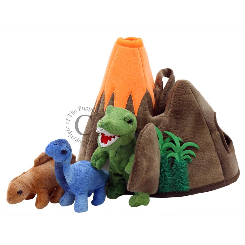 Dinosaur Volcano - Hide-Aways