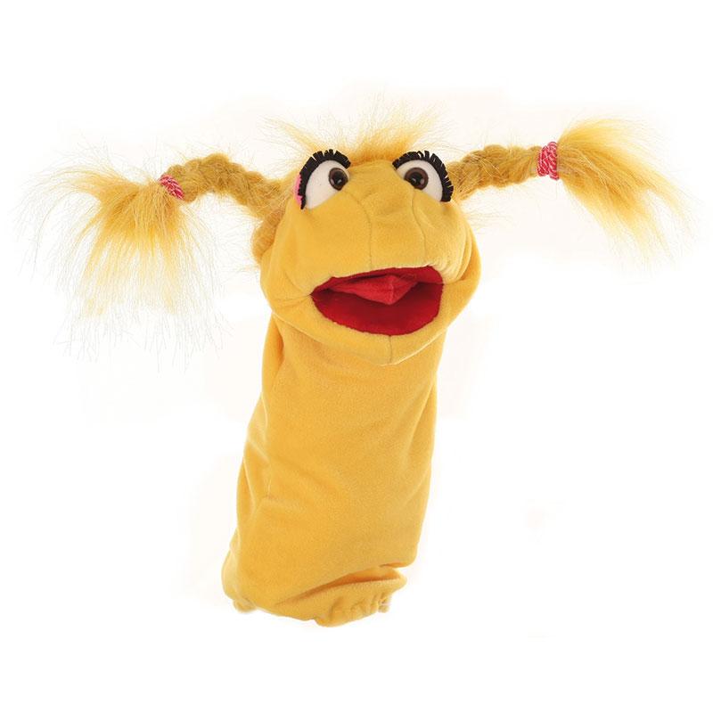 Misses Schnatterschnute Worm Glove Puppet