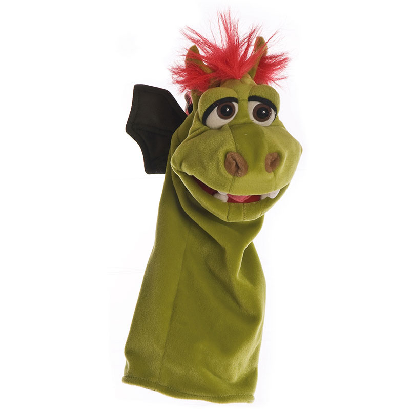 Gregor the Dragon Hand Puppet