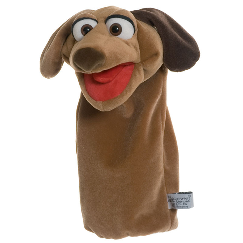 Tassilo the Dog Glove Puppet