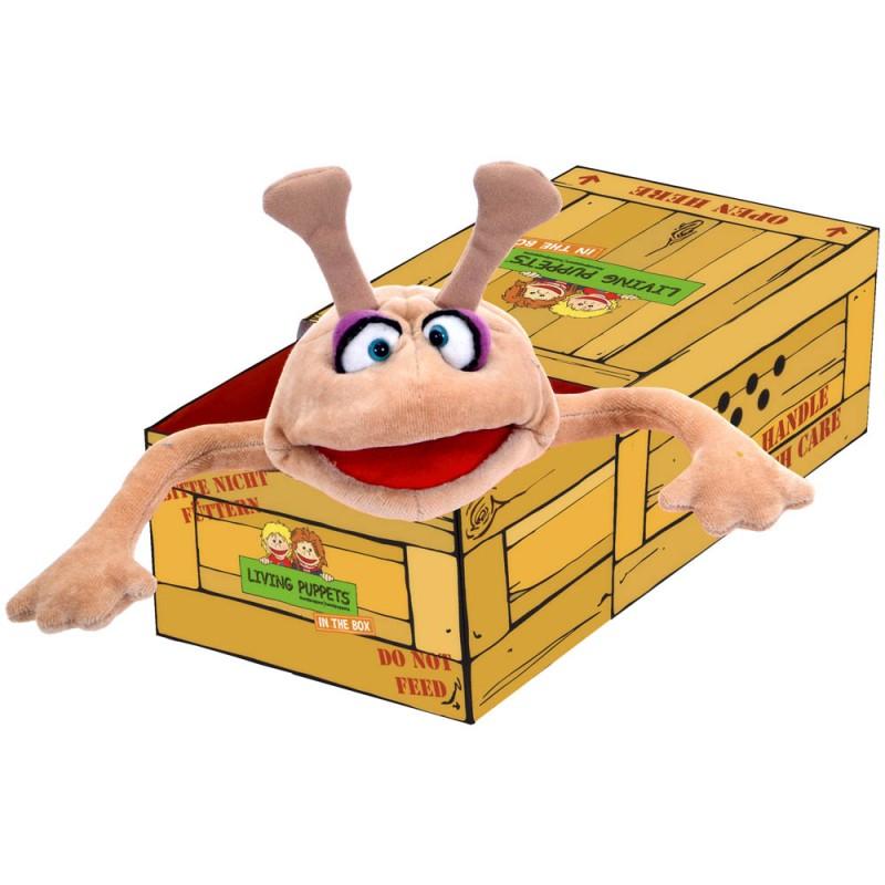 Kunigunde - Snail in the Box Hand Puppet