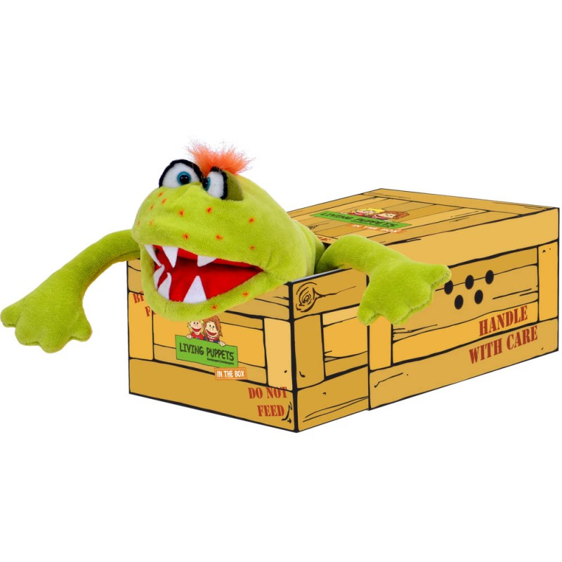 Captain Green In the Box Hand Puppet