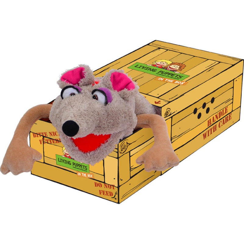 Vallerie Pieps - Mouse in the Box Hand Puppet