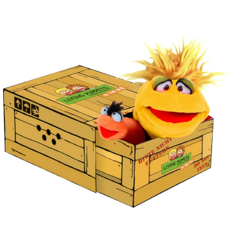 Little Yellow in the Box - Hand Puppet