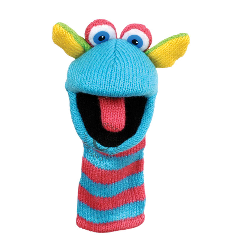 Scorch - Mini Knitted Puppets