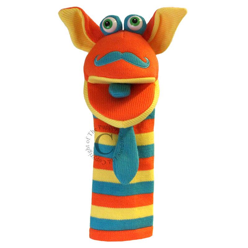 Mango - Knitted Puppets