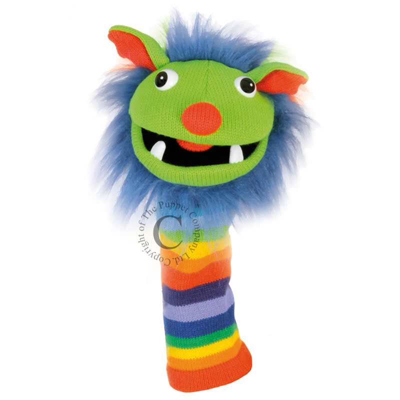 Rainbow - Knitted Puppets