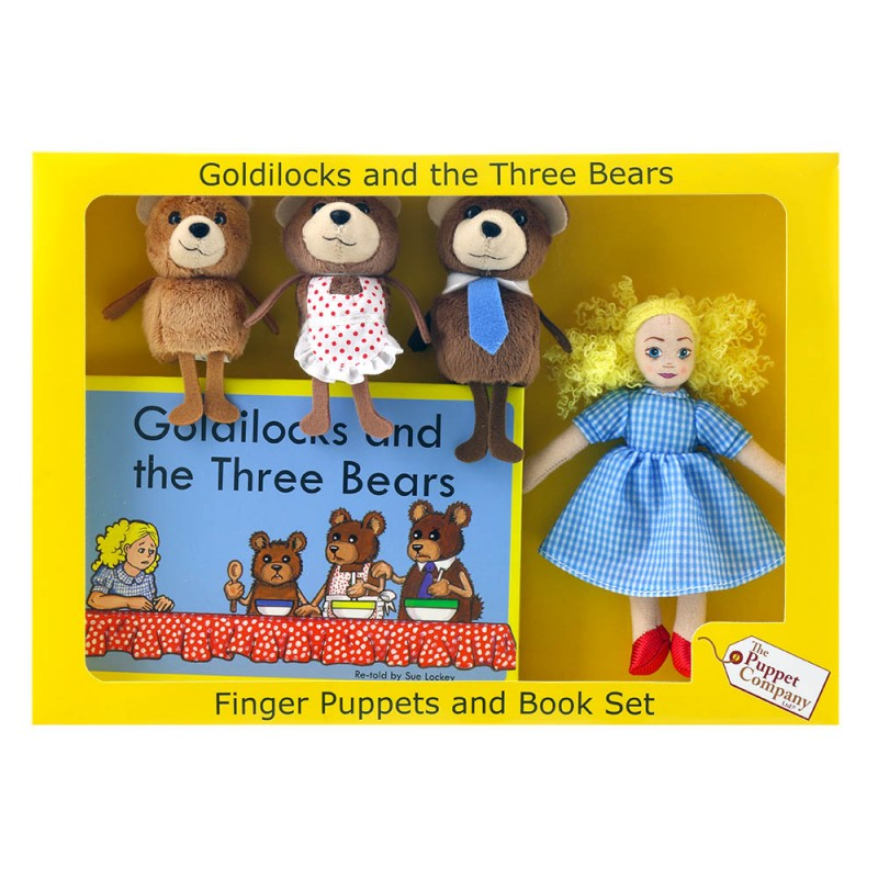Goldilocks & The Three Bears - Traditional Story Sets