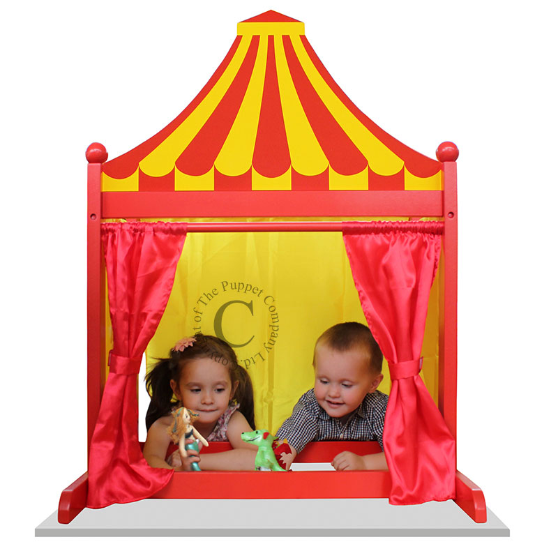 Red & Yellow - 3 in 1 Puppet Theatre